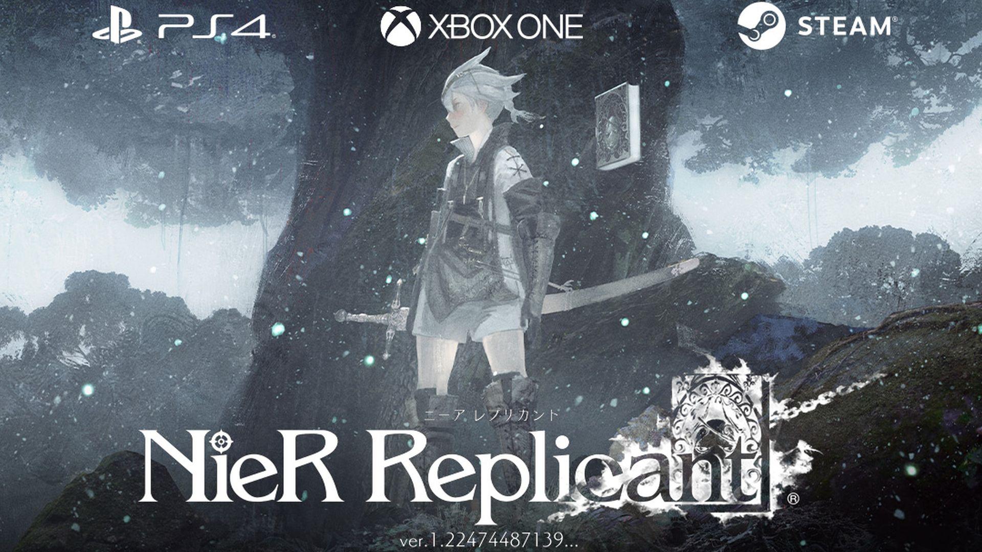 Square Enix Nier Replicant ver. 1.22474487139 Nier Reincarnation