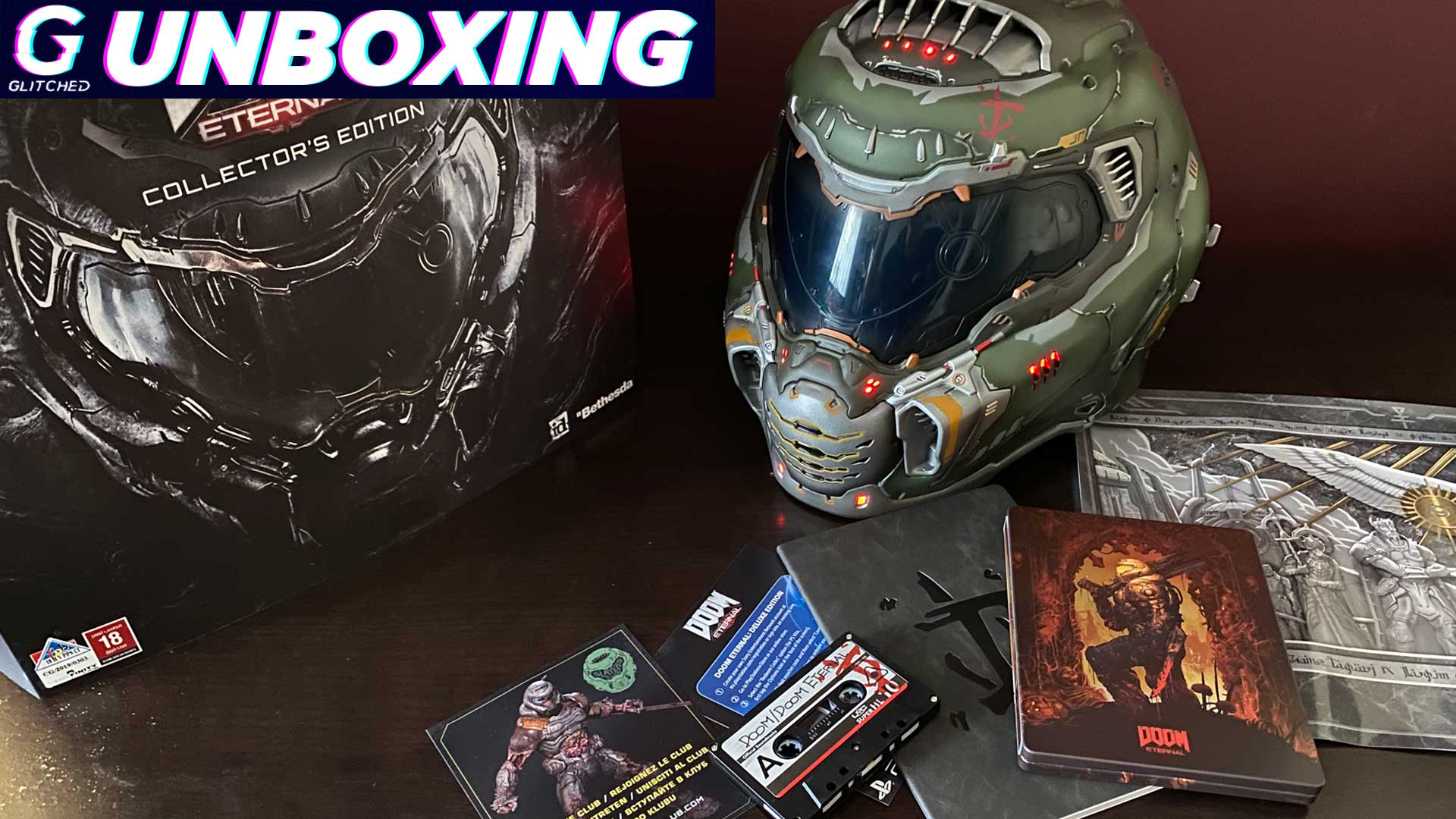 What S Inside The Doom Eternal Collector S Edition