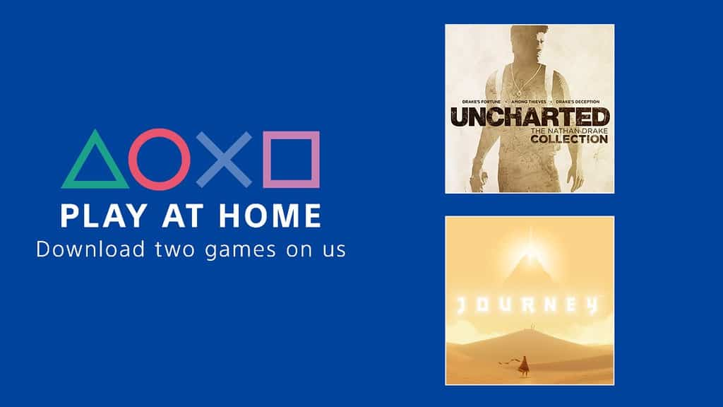 Free games PlayStation Play At Home Initiative Sony Free Games
