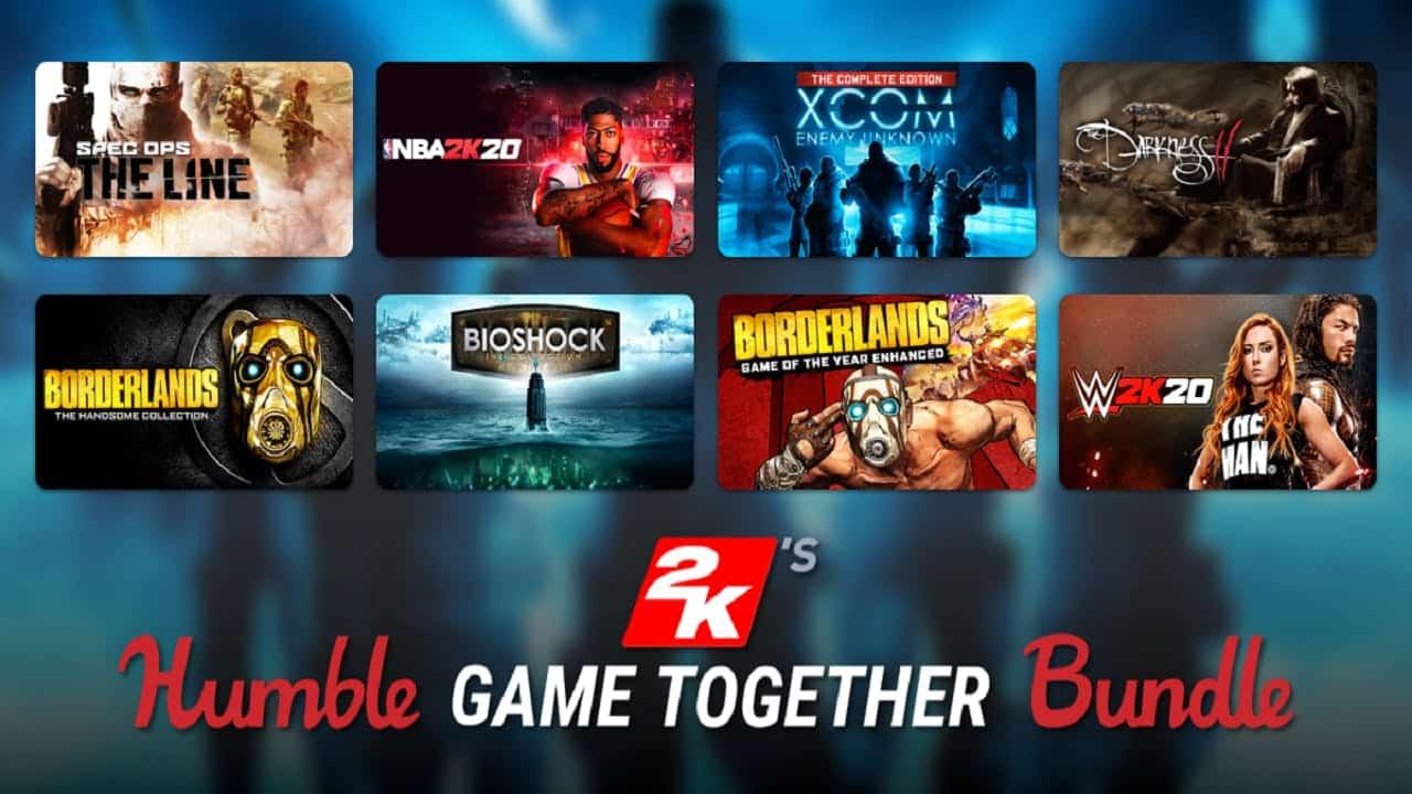 2K Humble Game Together Bundle