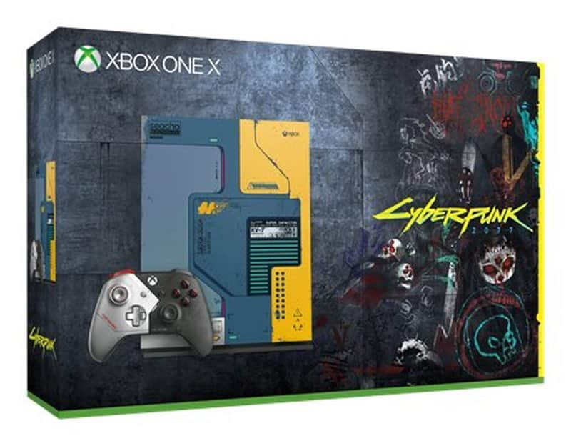 Cyberpunk 2077 Xbox One X Console Leaked and it is Hideous