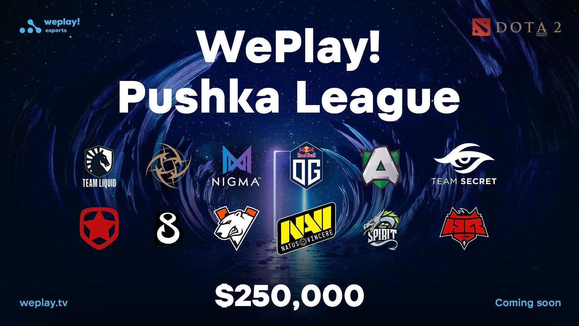 Dota 2 WePlay! Pushka League Day 1 Wrap Up