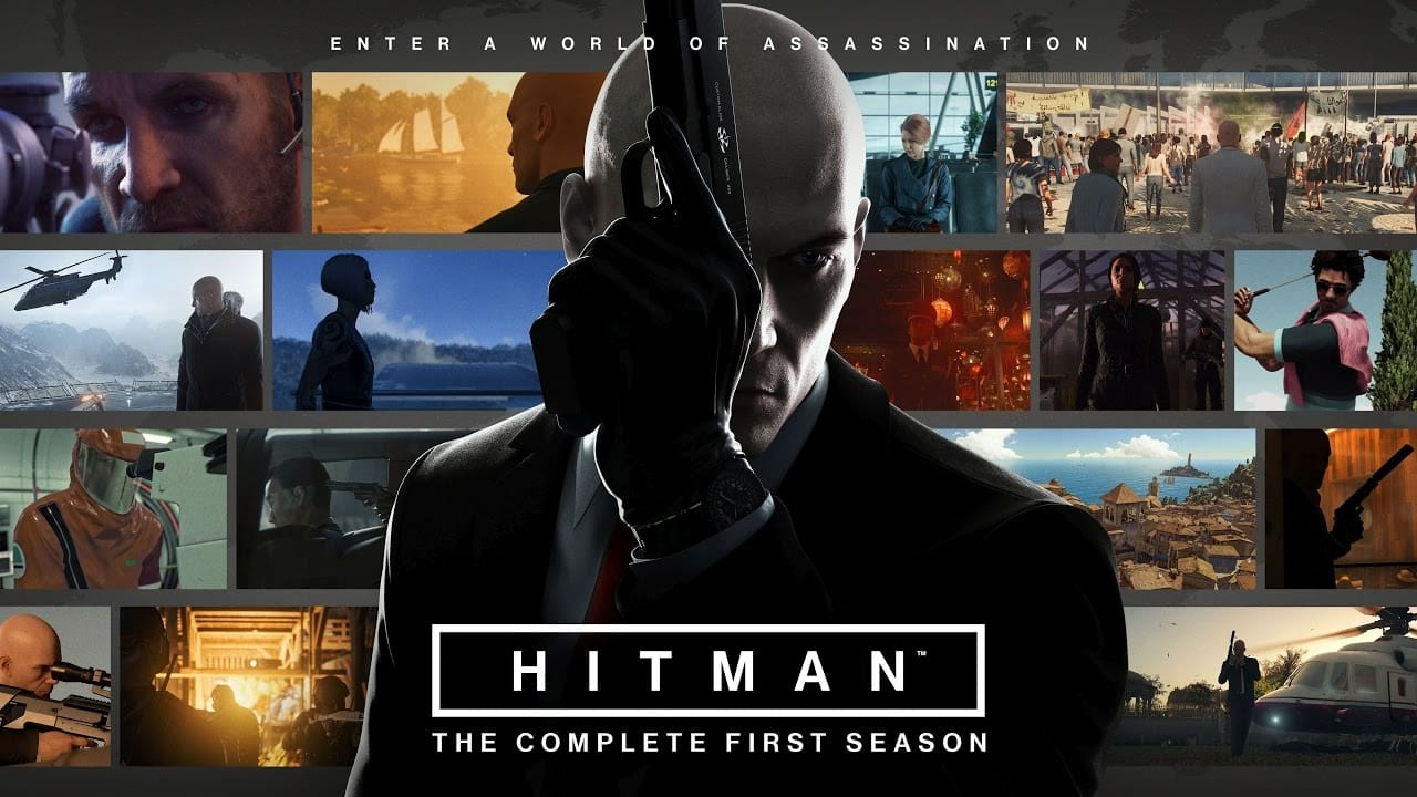 Free Games Hitman The Complete First Season PS4