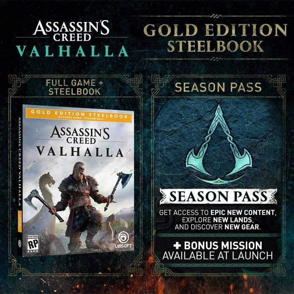 Assassin's Creed Valhalla - All The Special and Collector's Editions Available to Pre-Order
