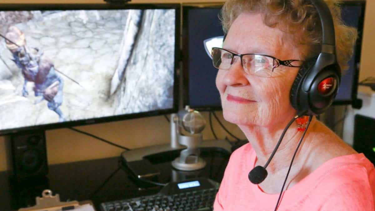 Shirley Curry Skyrim Grandma
