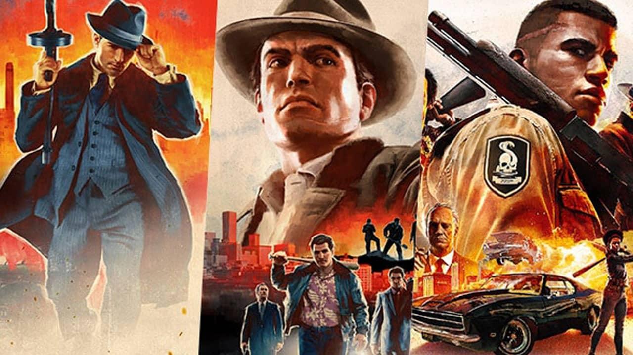 Mafia II III Definitive Edition PS4 Xbox One PC