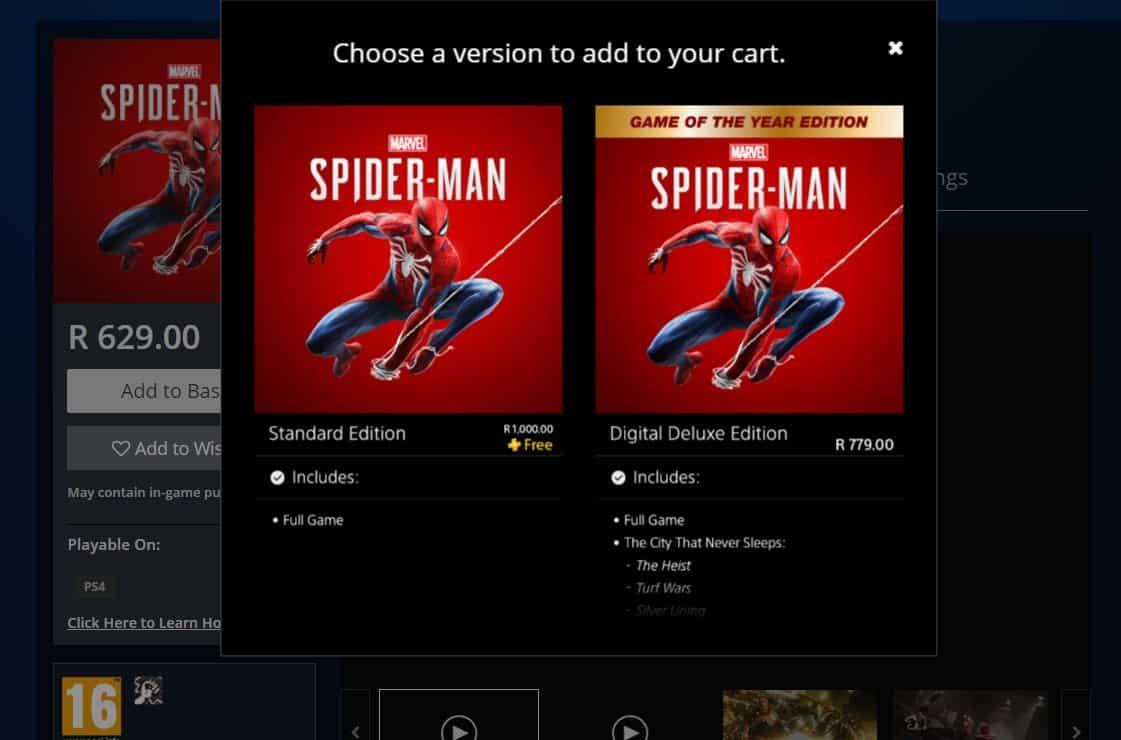 Marvel's Spider-Man PlayStation Plus June