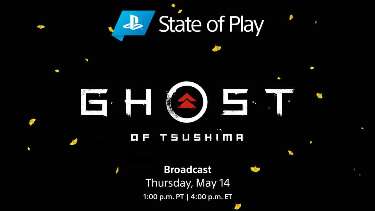 Sony Ghost of Tsushima PS4 State of Play