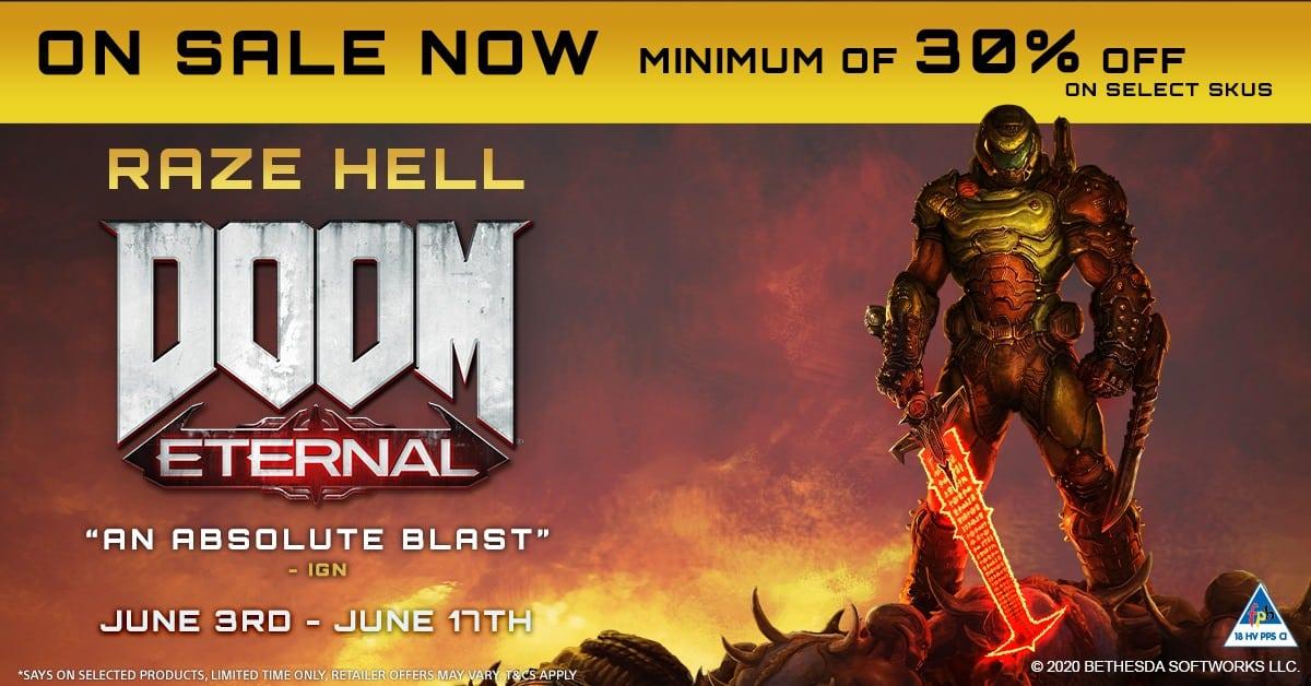 Nexus Hub Lockdown Sale DOOM Eternal