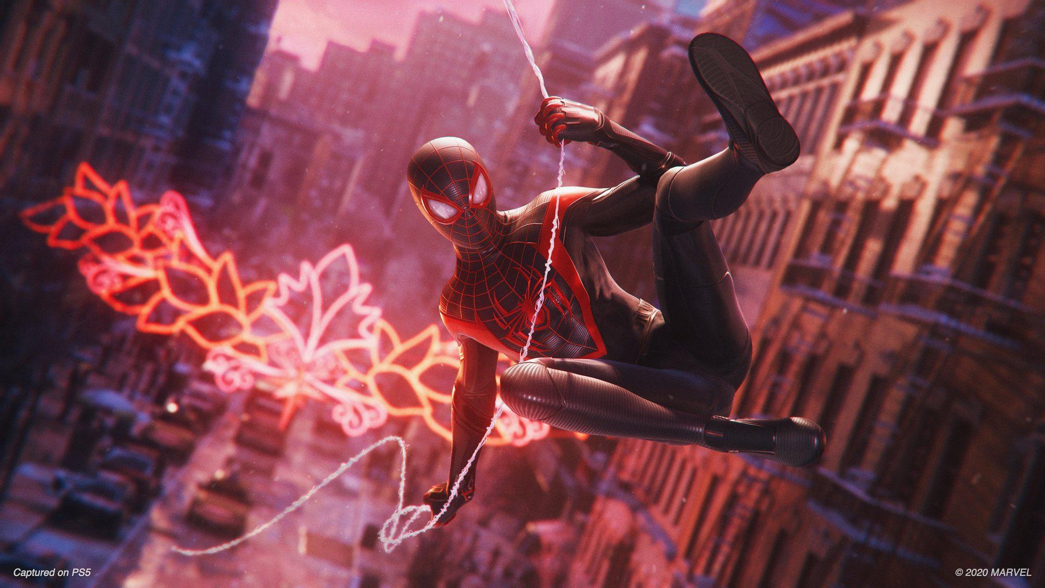 PS5 Marvels Spider-Man: Miles Morales Demons Souls File Size PS4