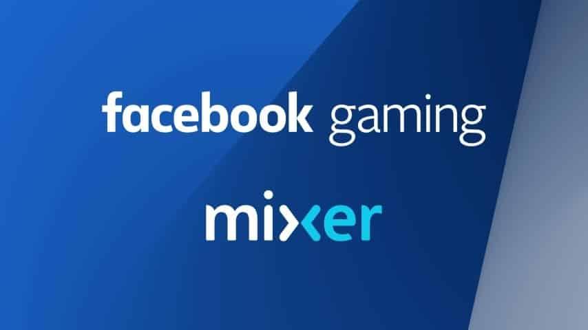 Mixer Facebook Gaming Microsoft