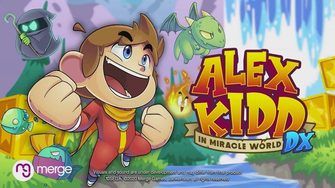 Alex Kidd in Miracle World DX SEGA
