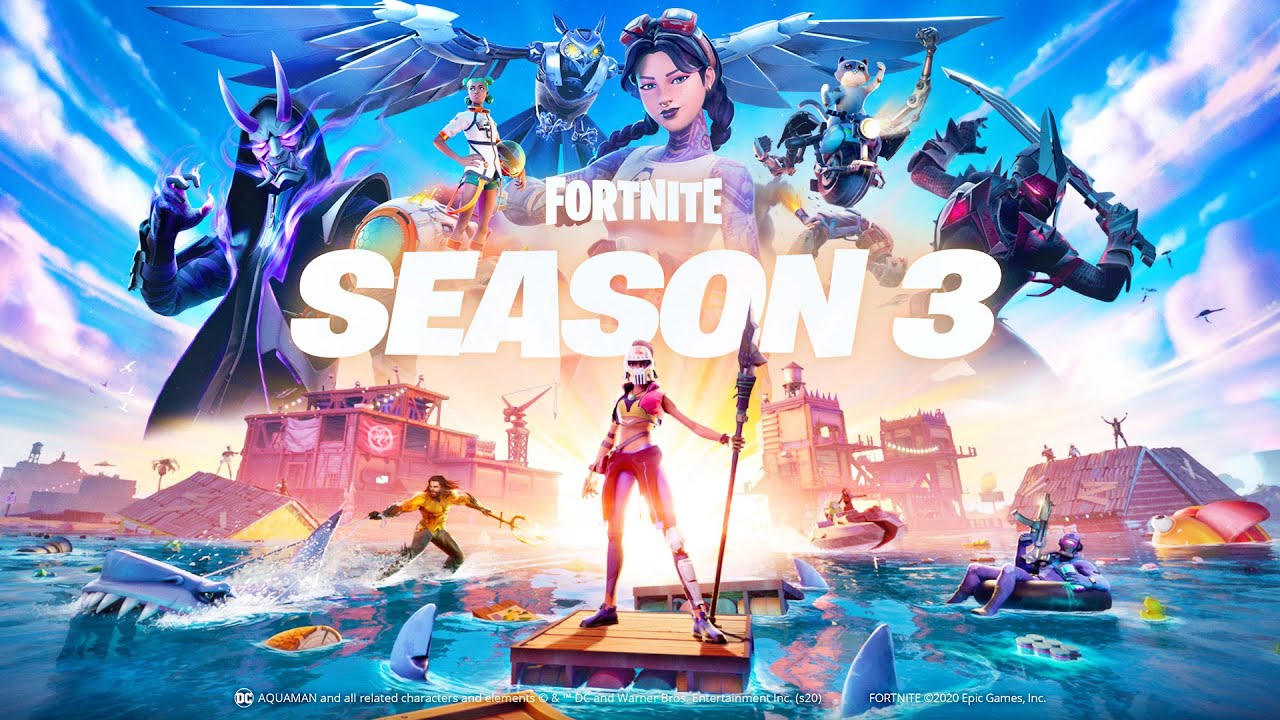 Fortnite Chapter 2 Season 3 Brings Aquaman And A Whole Lot Of Water