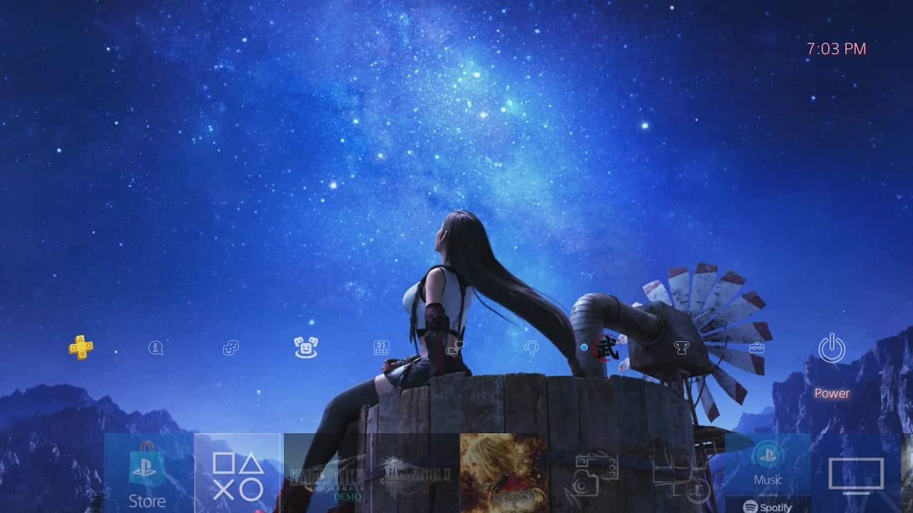 Final Fantasy VII Remake Tifa Dynamic Theme