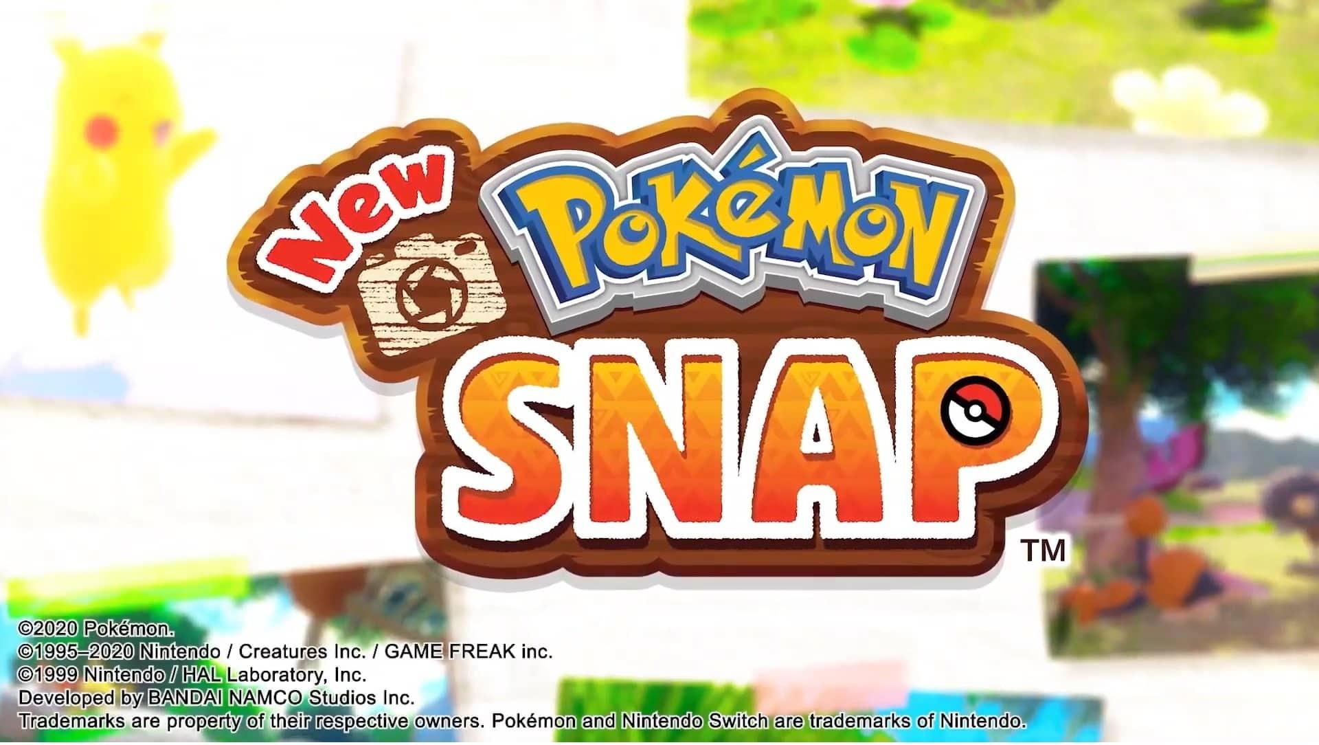 Pokemon Snap Cafe Mix Nintendo Switch