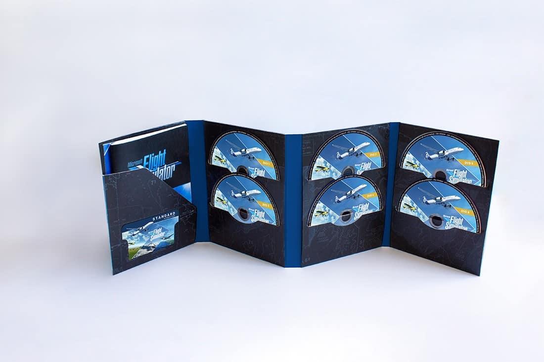 Microsoft Flight Simulator Physical Edition Comes on 10 Discs