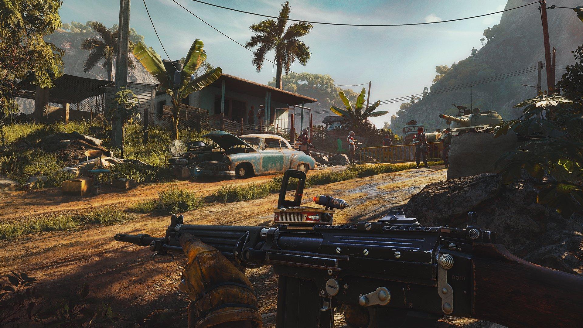 anton castillo Far Cry 6 Ubisoft