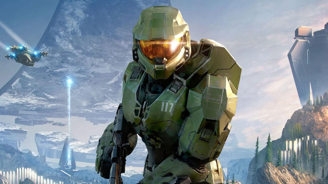 Halo Infinite Xbox Games Showcase Xbox One Series X Multiplayer Battle Royale Xbox Series X Box Halo Infinite PC Support