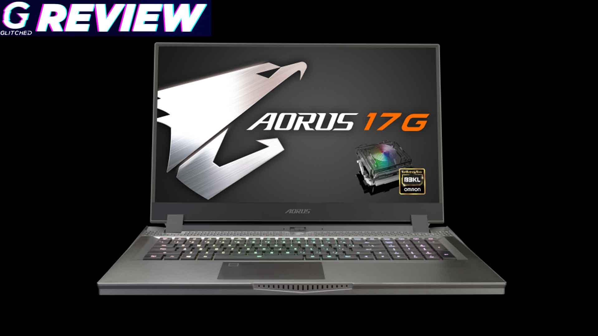 Gigabyte Aorus 17G review