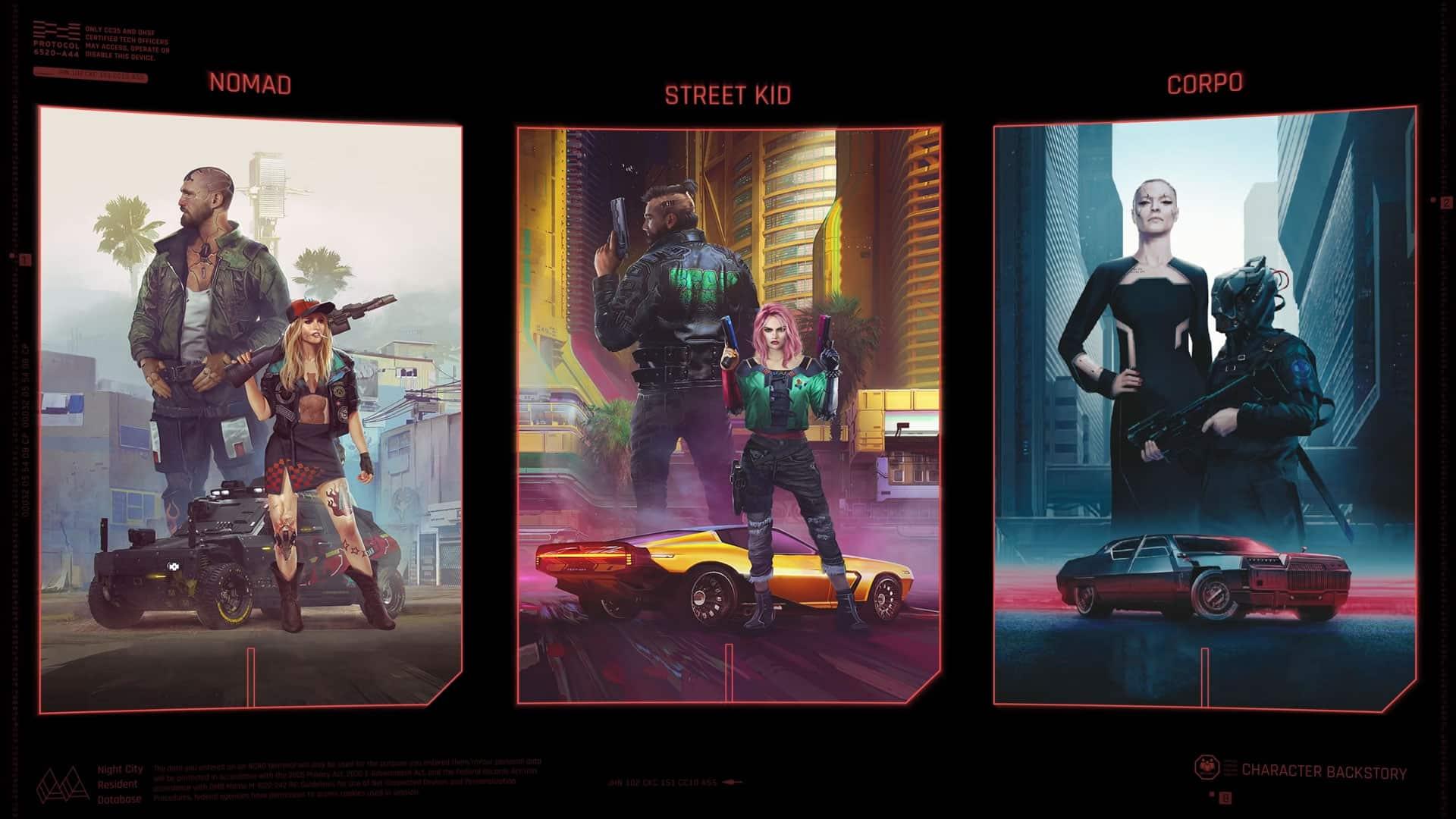 Cyberpunk 2077 CD Projekt Red Backstories