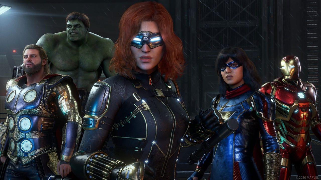 Marvels Avengers Marvel's Avengers PS5 Enhancements
