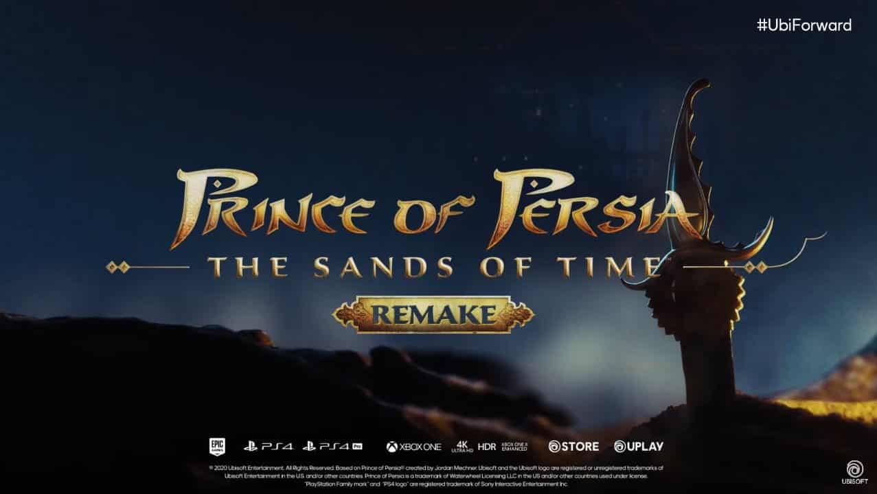 Ubisoft Forward Prince of Persia The Sands of Time Remake Delayed