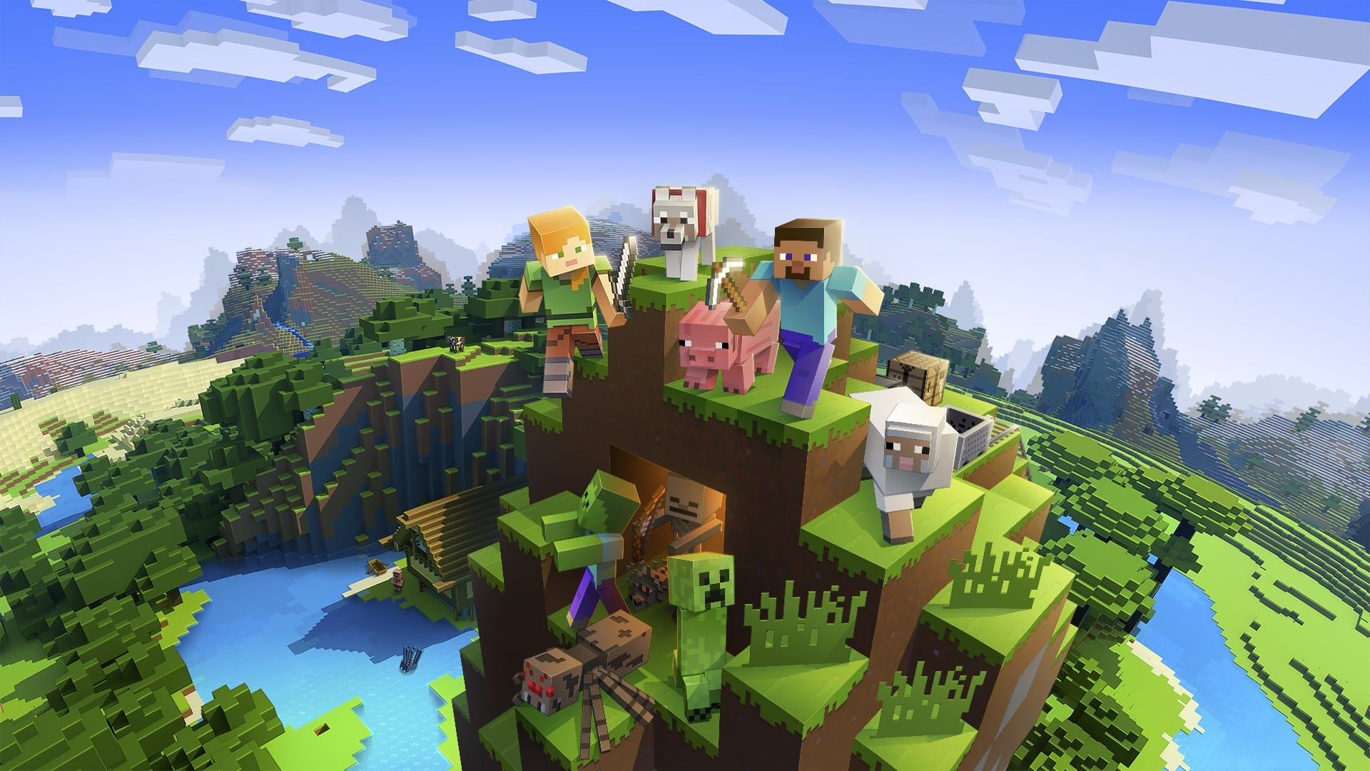 Minecraft Gets Full PS VR Support in a Free Update This Month