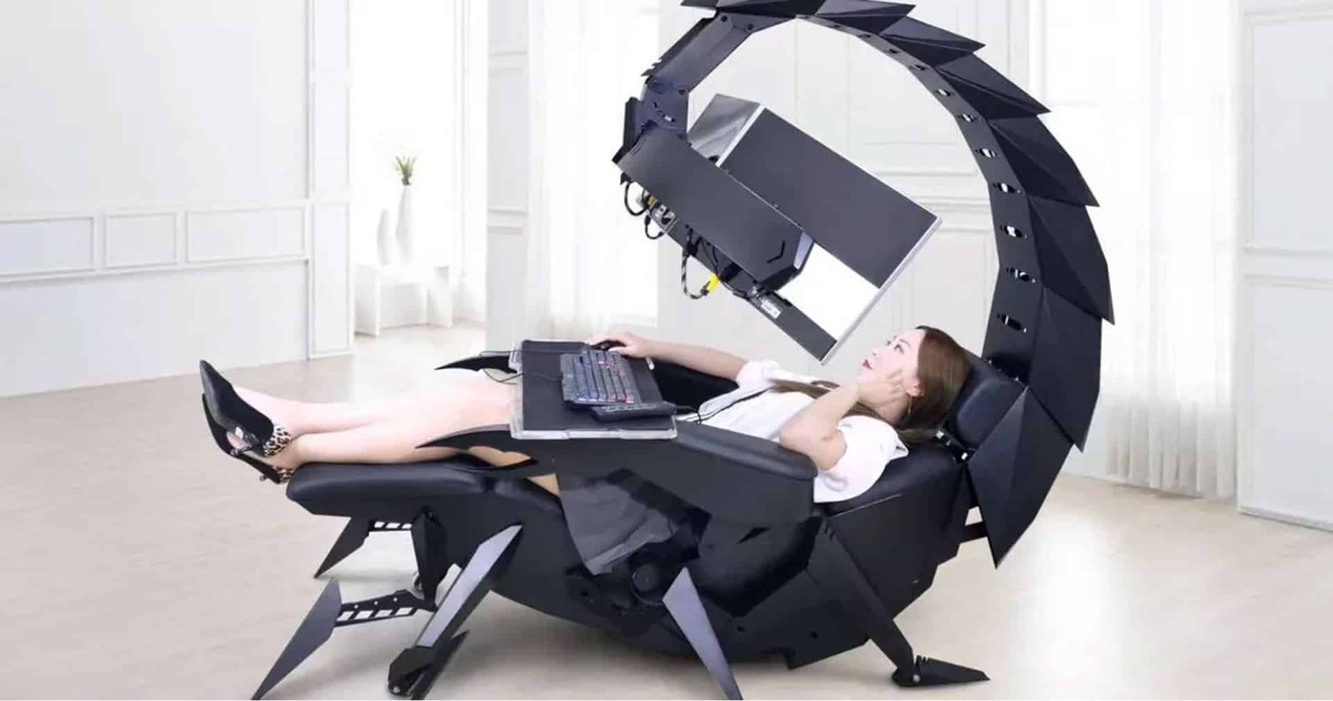 This R60k Cluvens Scorpion Gaming Chair Is Fully Mechanical And Pretty Awesome