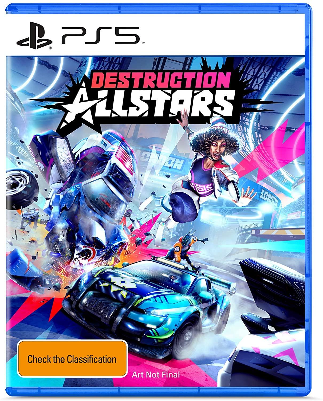 PS5 PlayStation 5 Box Art Destruction All Stars
