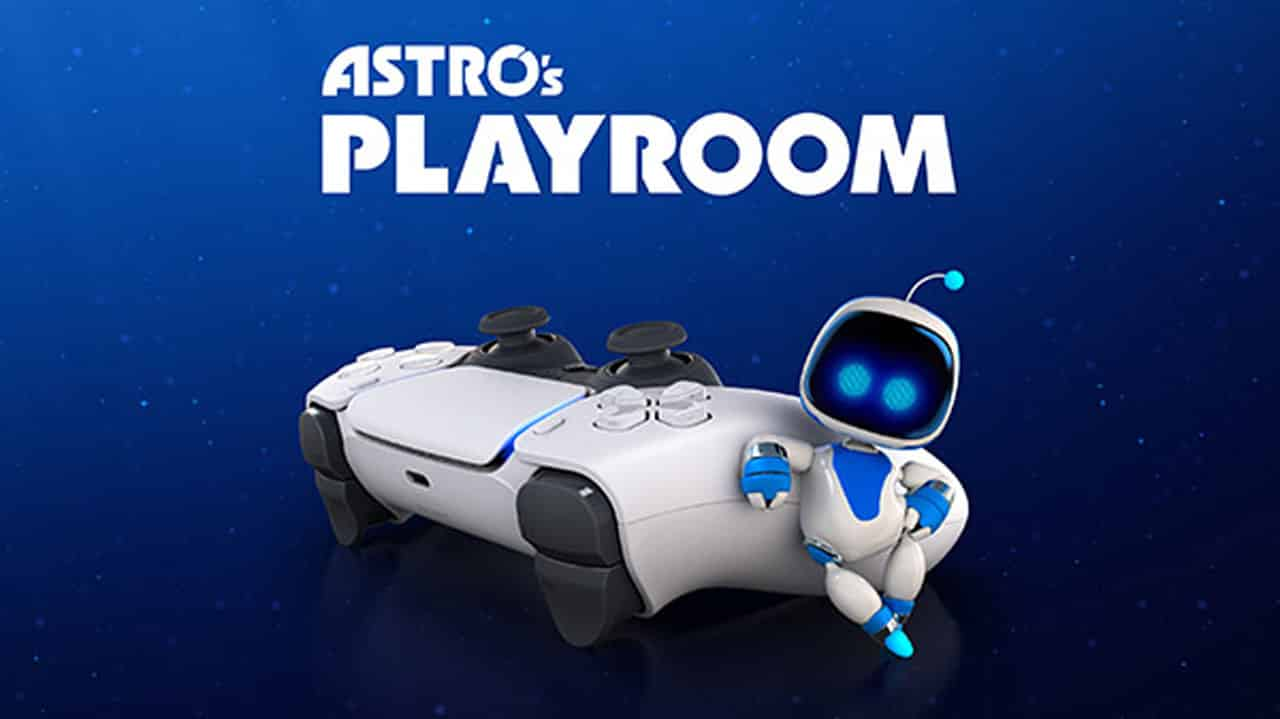 PS5 Astro's Playroom Game