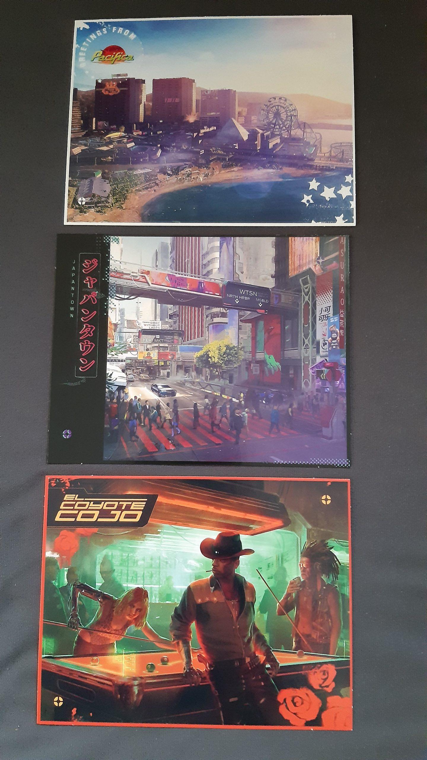 Cyberpunk 2077 Physical Edition Map