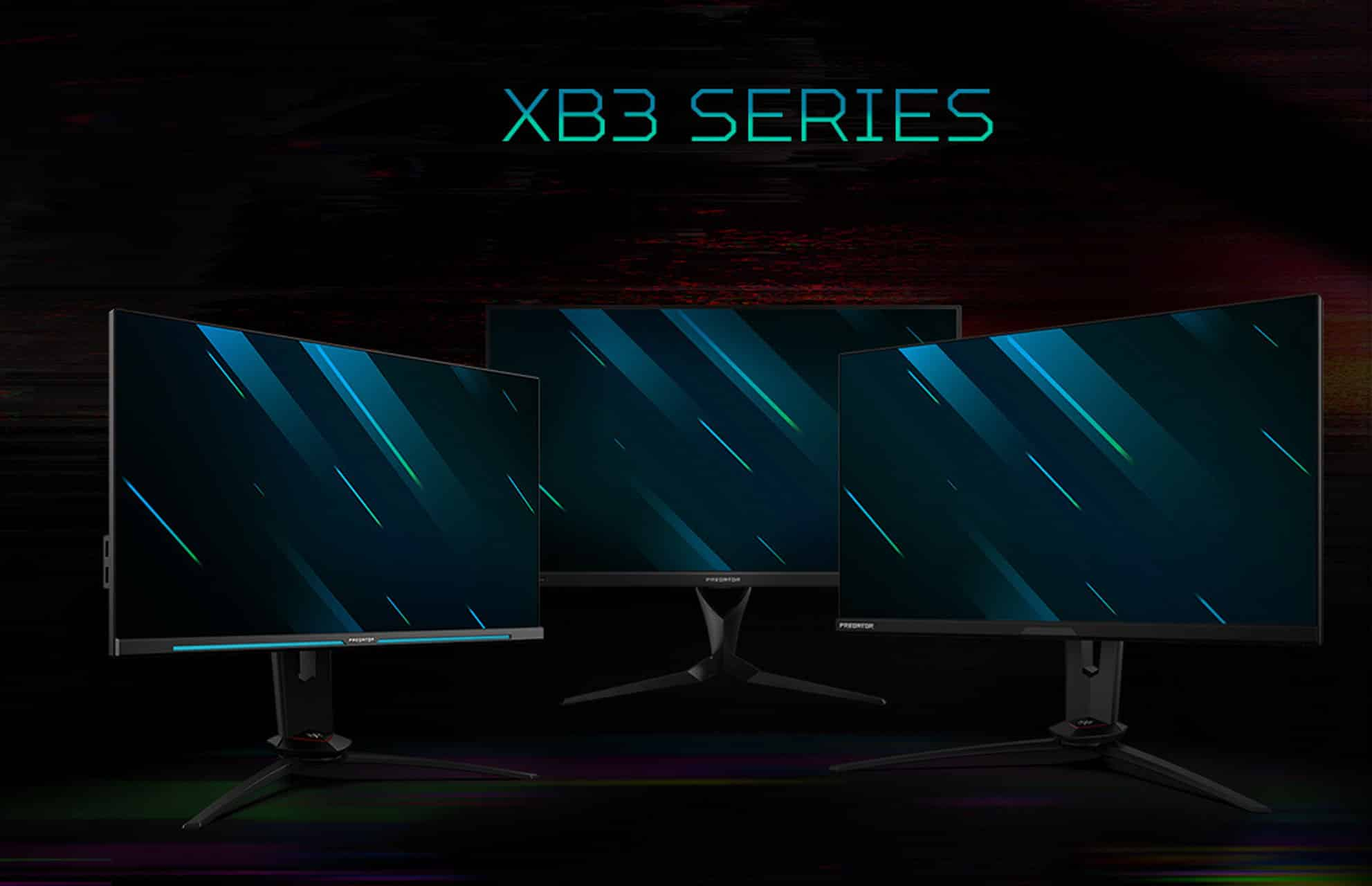 Acer Predator Gaming Monitor Displays