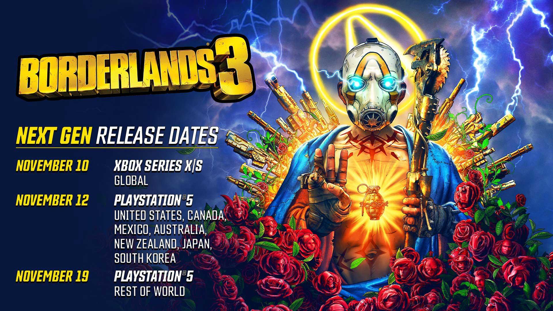 Borderlands 3 PS5 Xbox Series X