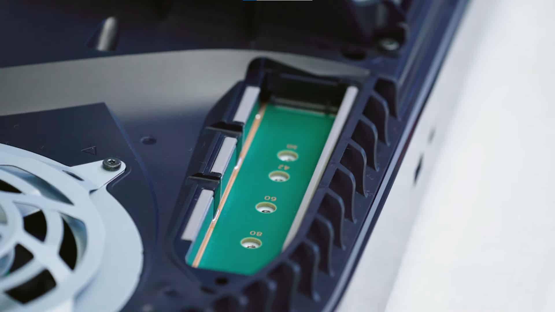 Upgrade PS5 SSD Storage