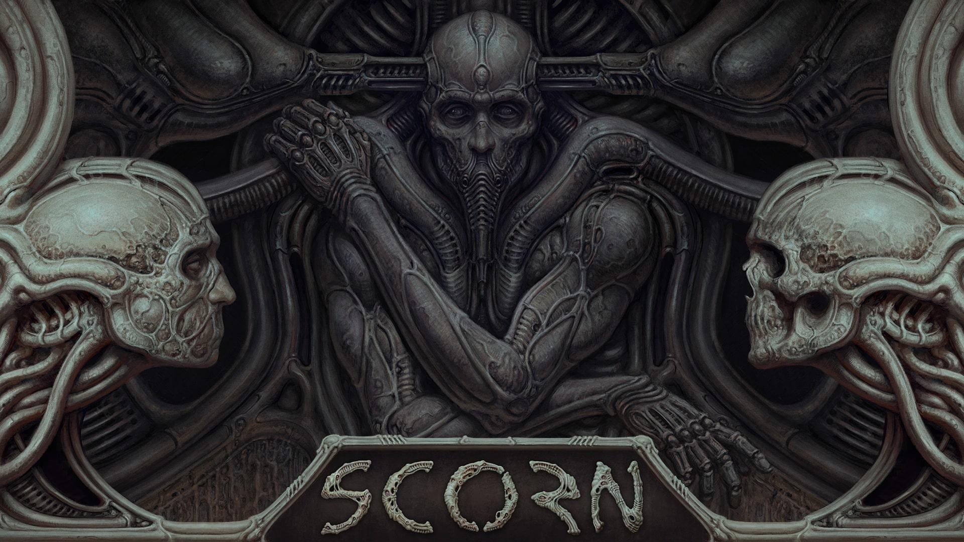 Scorn Gameplay Xbox Series X S PC