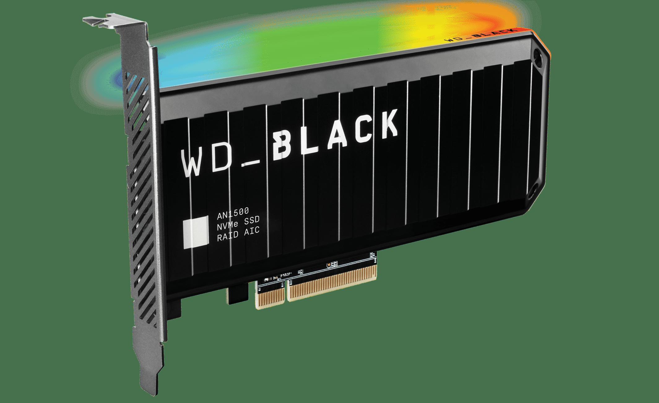 WD_BLACK AN1500 NVMe SSD Add-in-Card