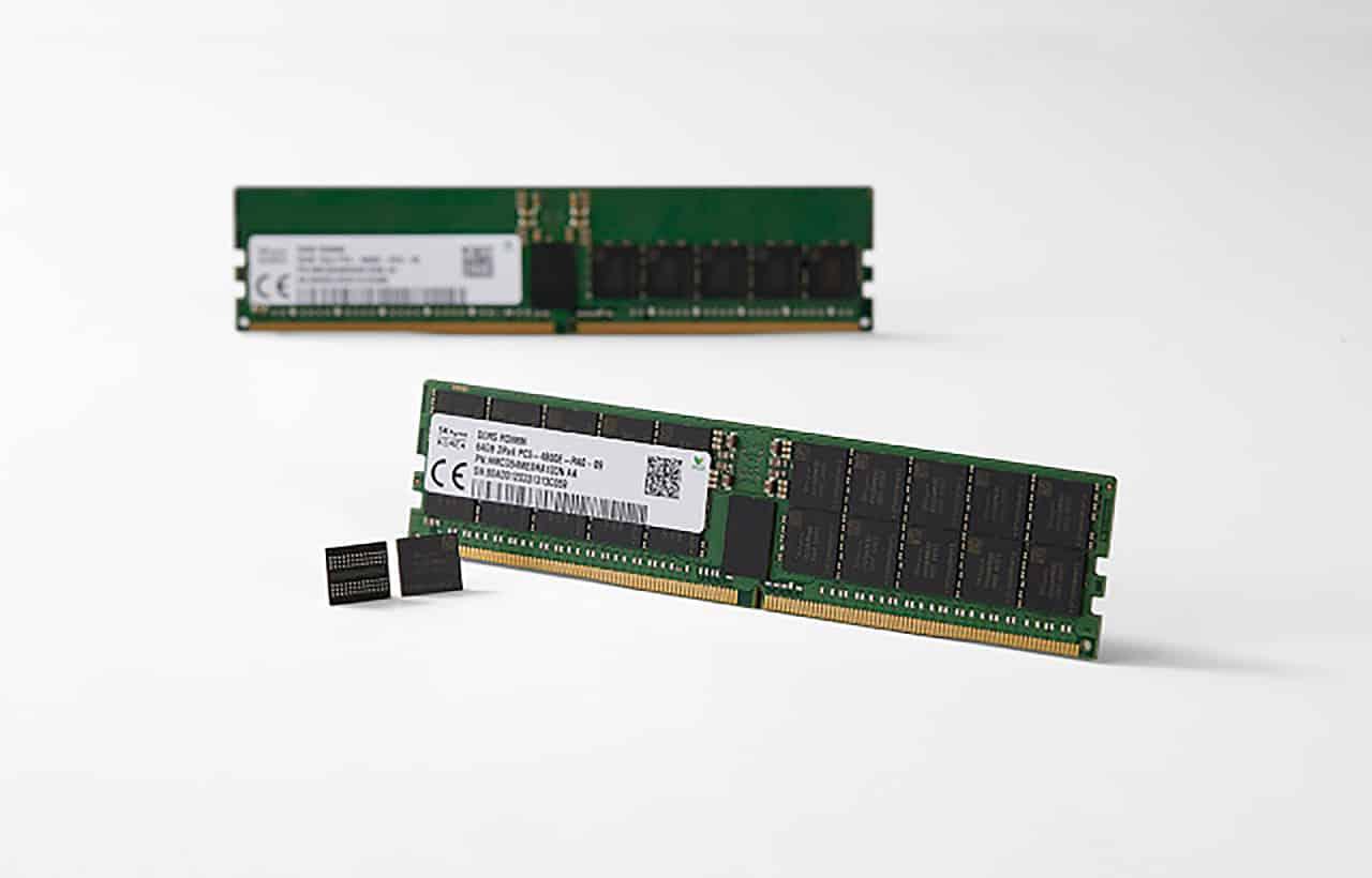 SK Hynix DDR5 Memory Modules