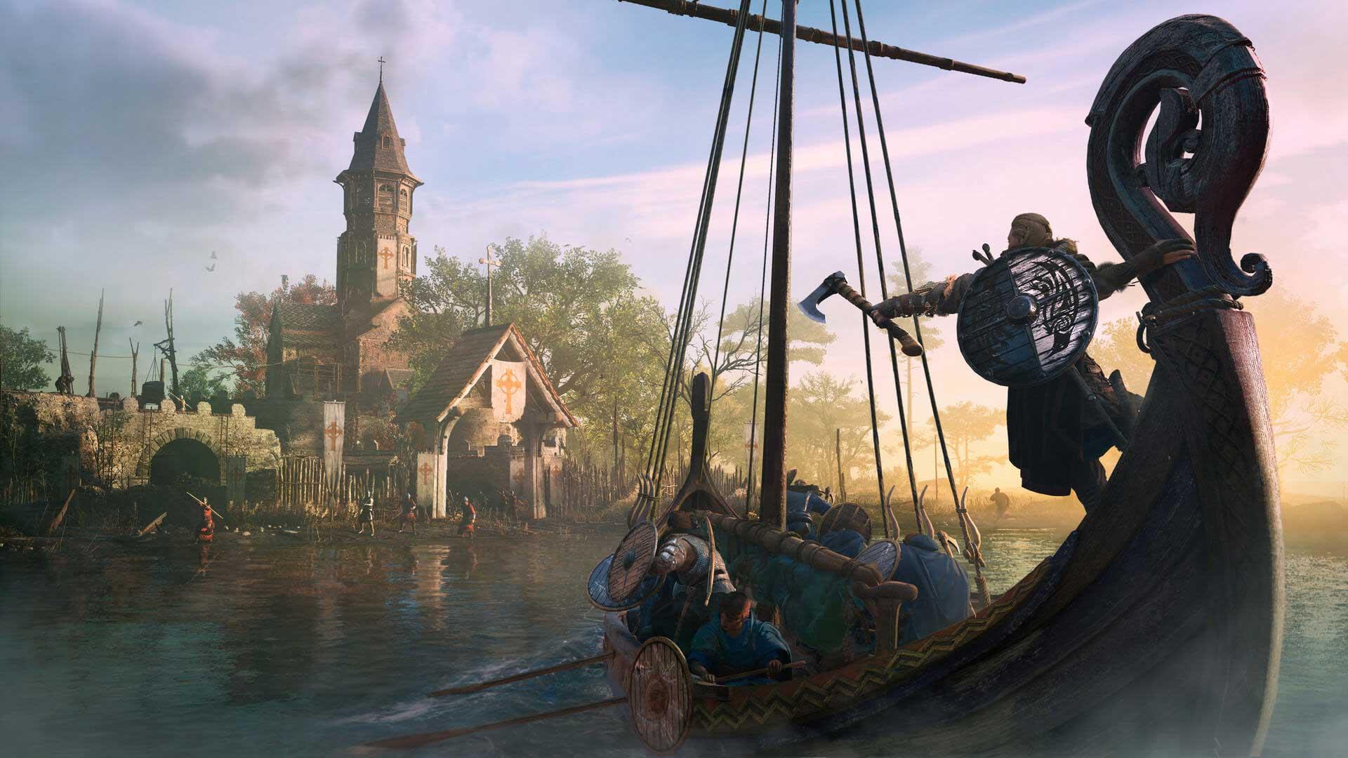 Assassin's Creed Valhalla update 1.2 River Raids Update 1.1.2 Year 2
