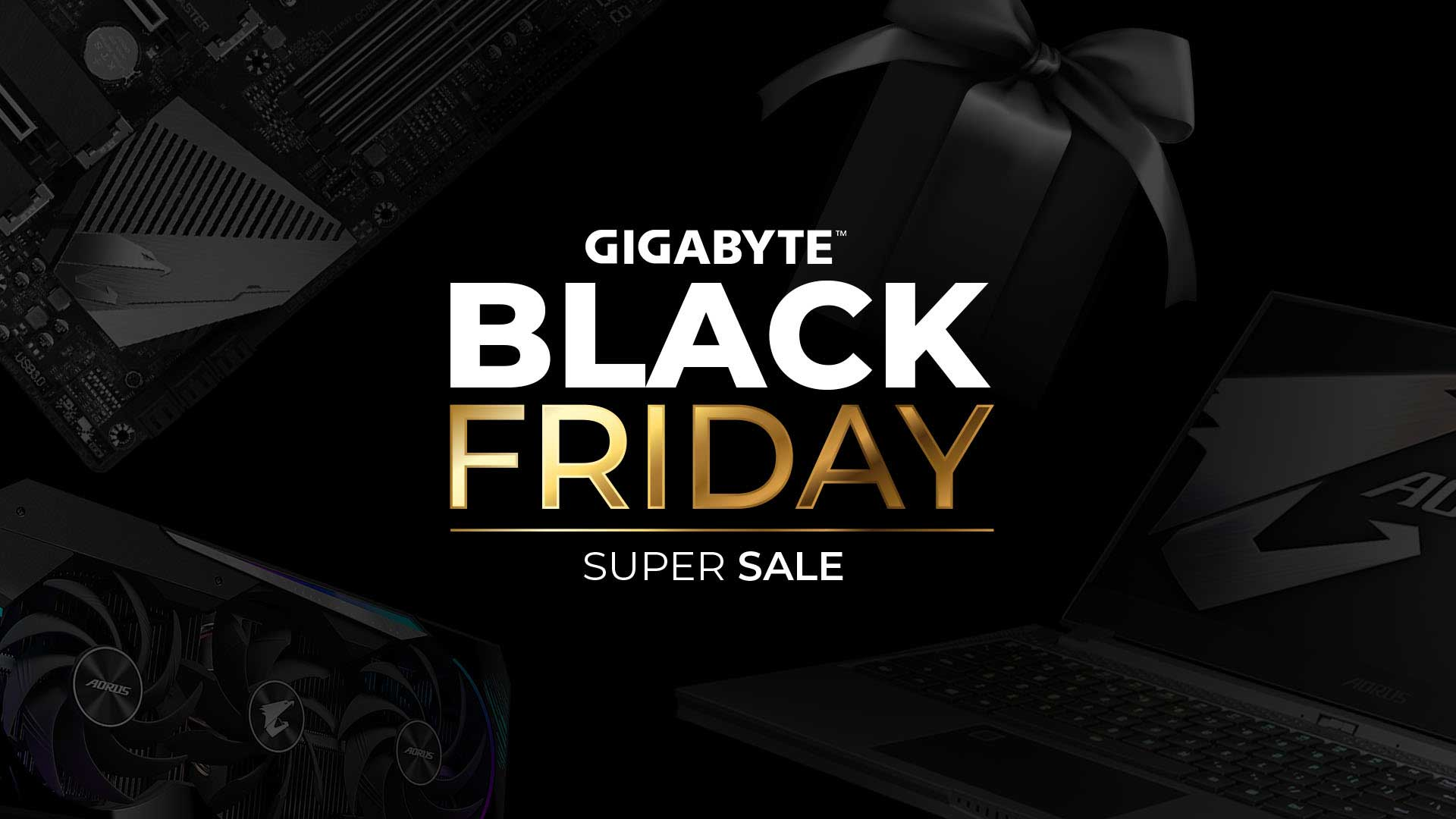 Gigabyte South African Black Friday Deals