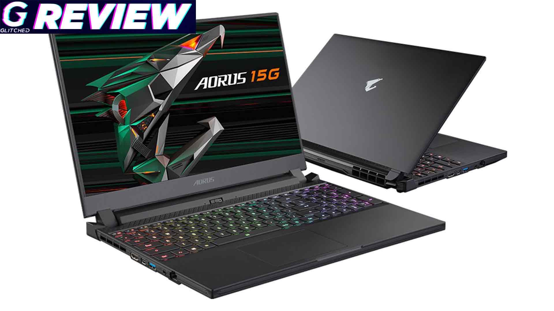 Gigabyte Aorus 15G RTX 3070 Gaming Notebook Review