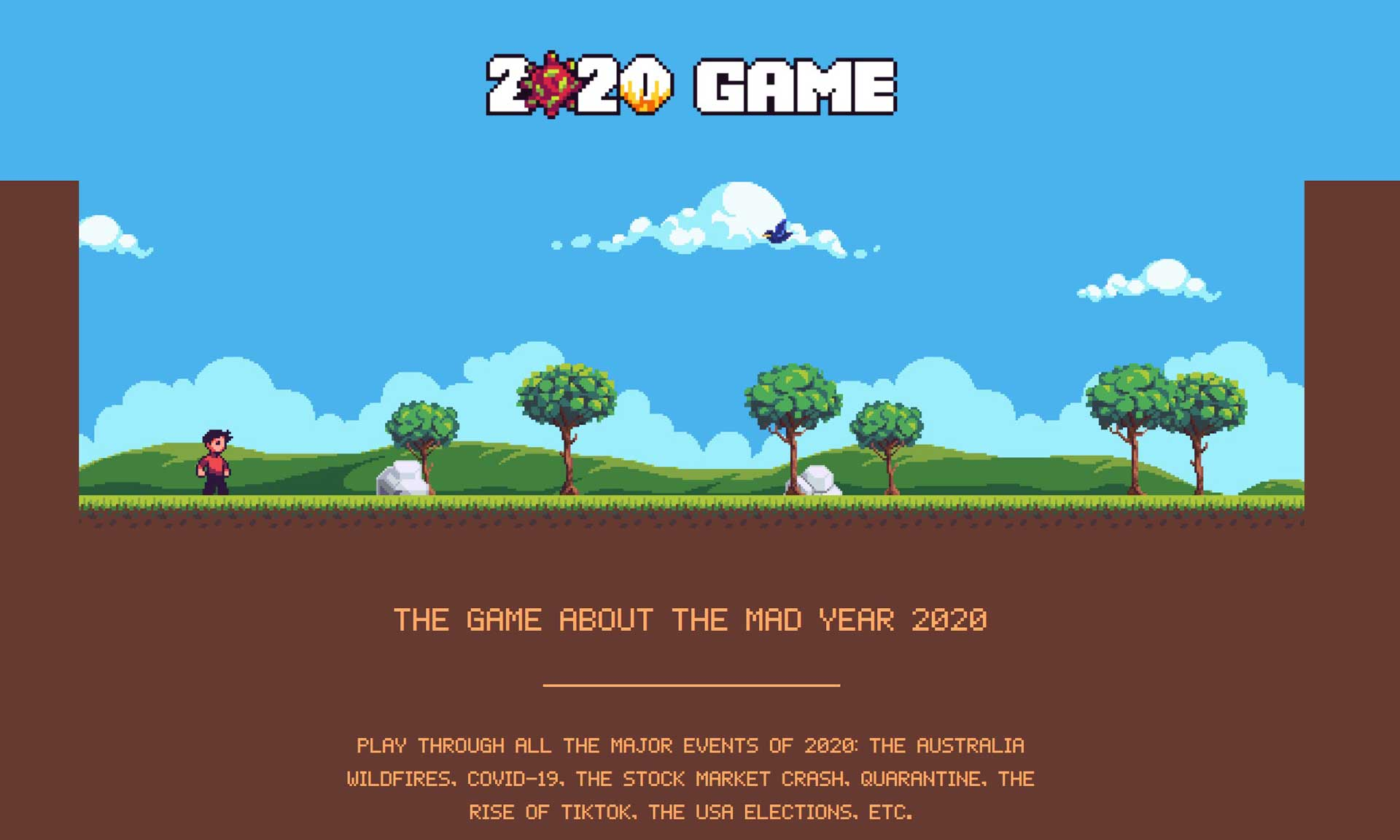 2020 Game PC