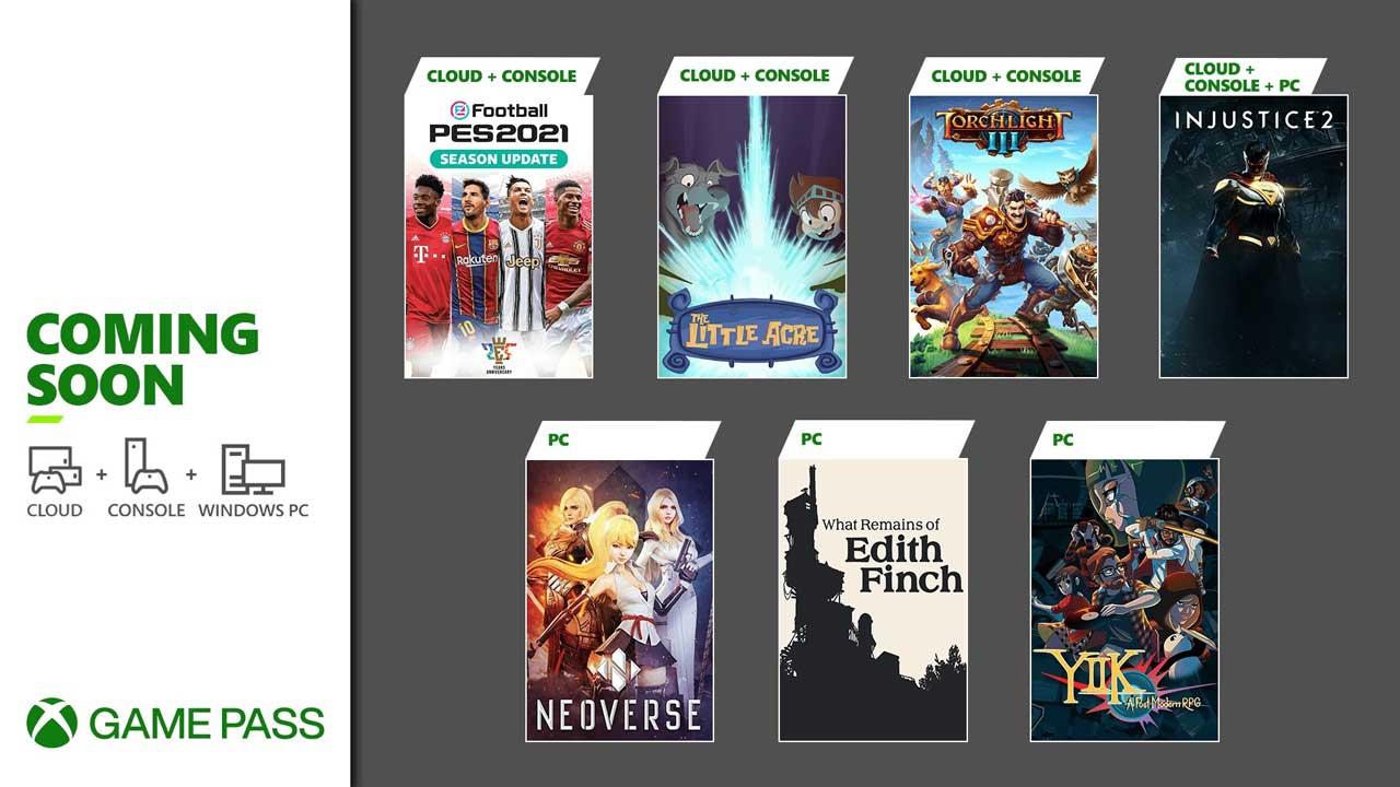 Xbox Game Pass January 2021