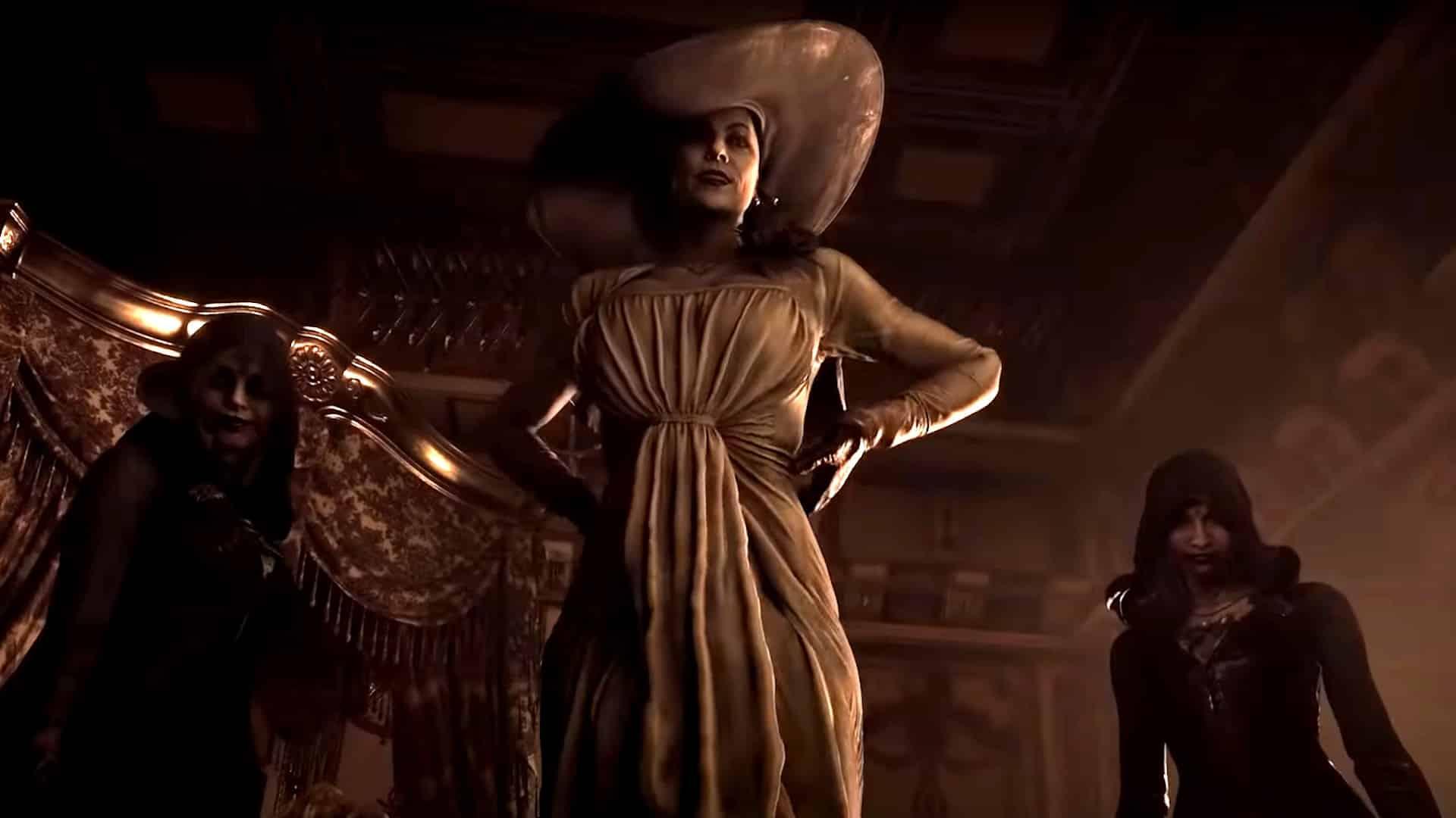 Resident Evil 8 Village Tall Vampire Lady