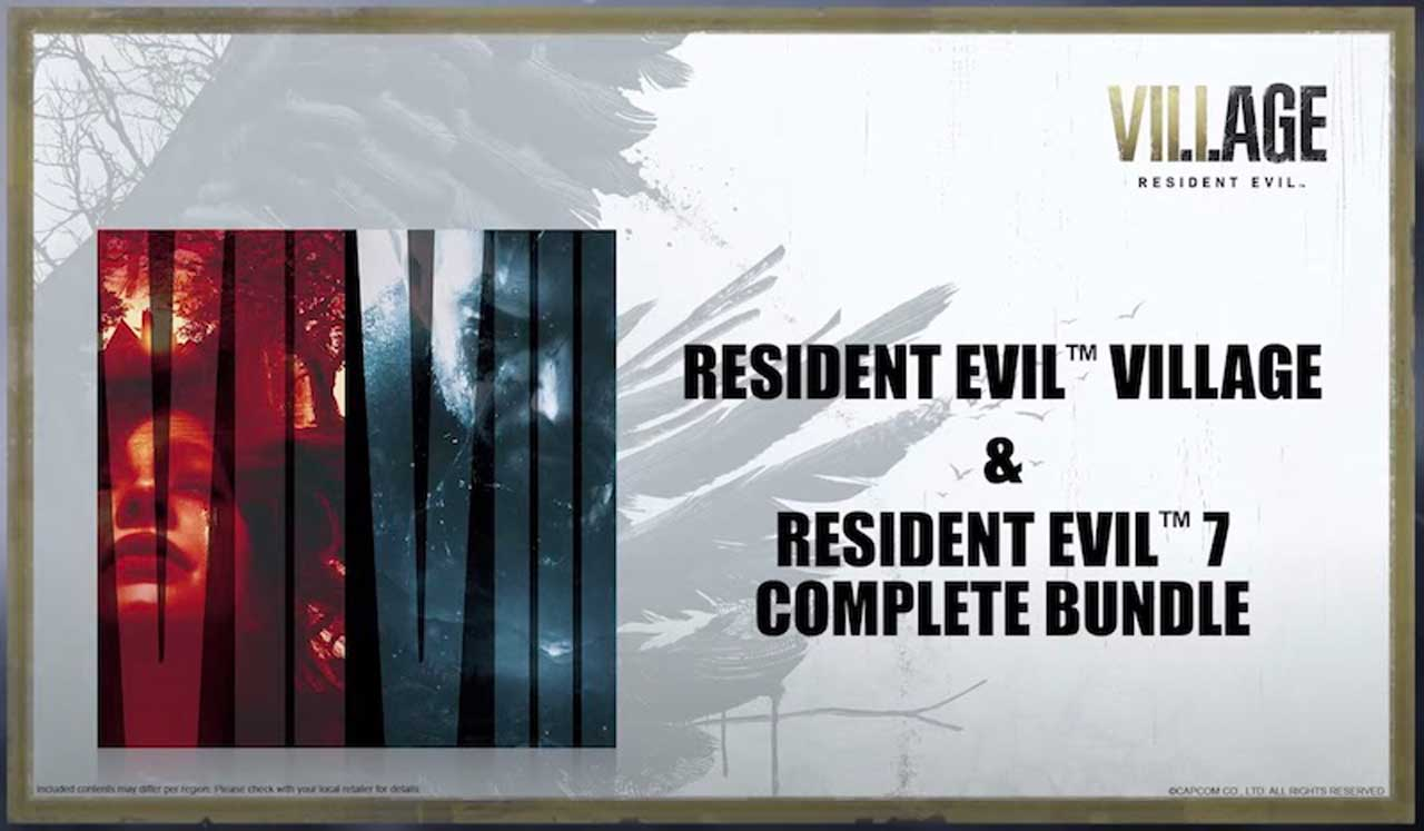 Resident Evil Village Collector's Edition Special Edition PS5 Xbox Series X PC PS4