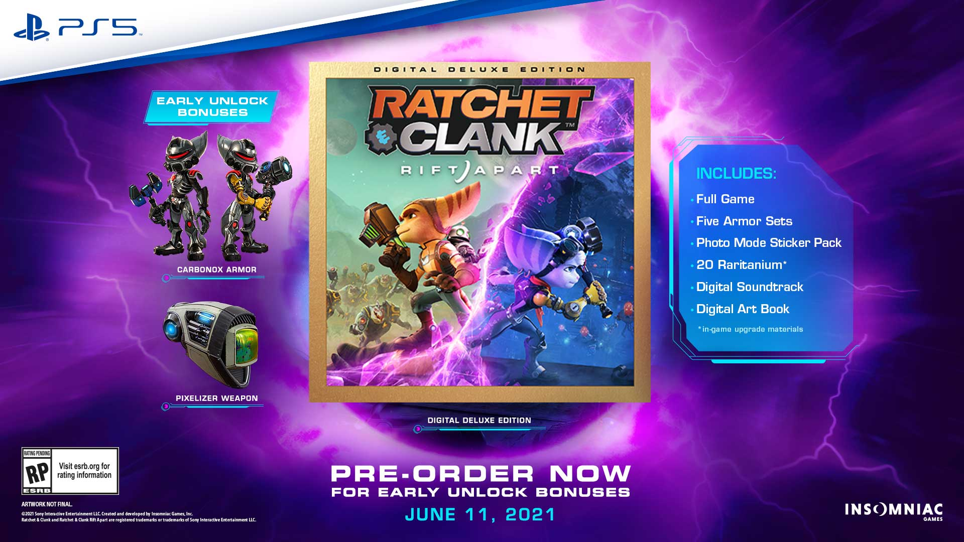 PS5 Ratchet and Clank: A Rift Apart