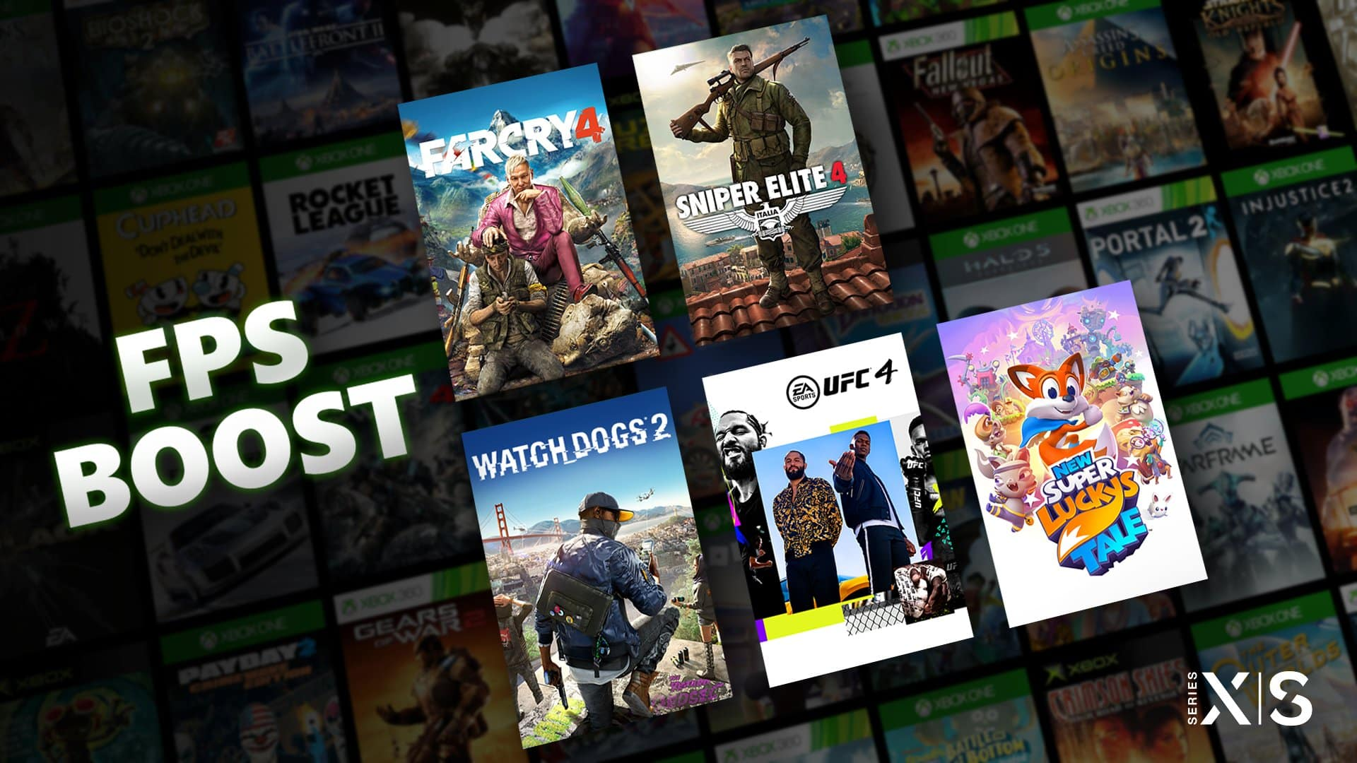 Xbox FPS Boost Mode Xbox Series X/S