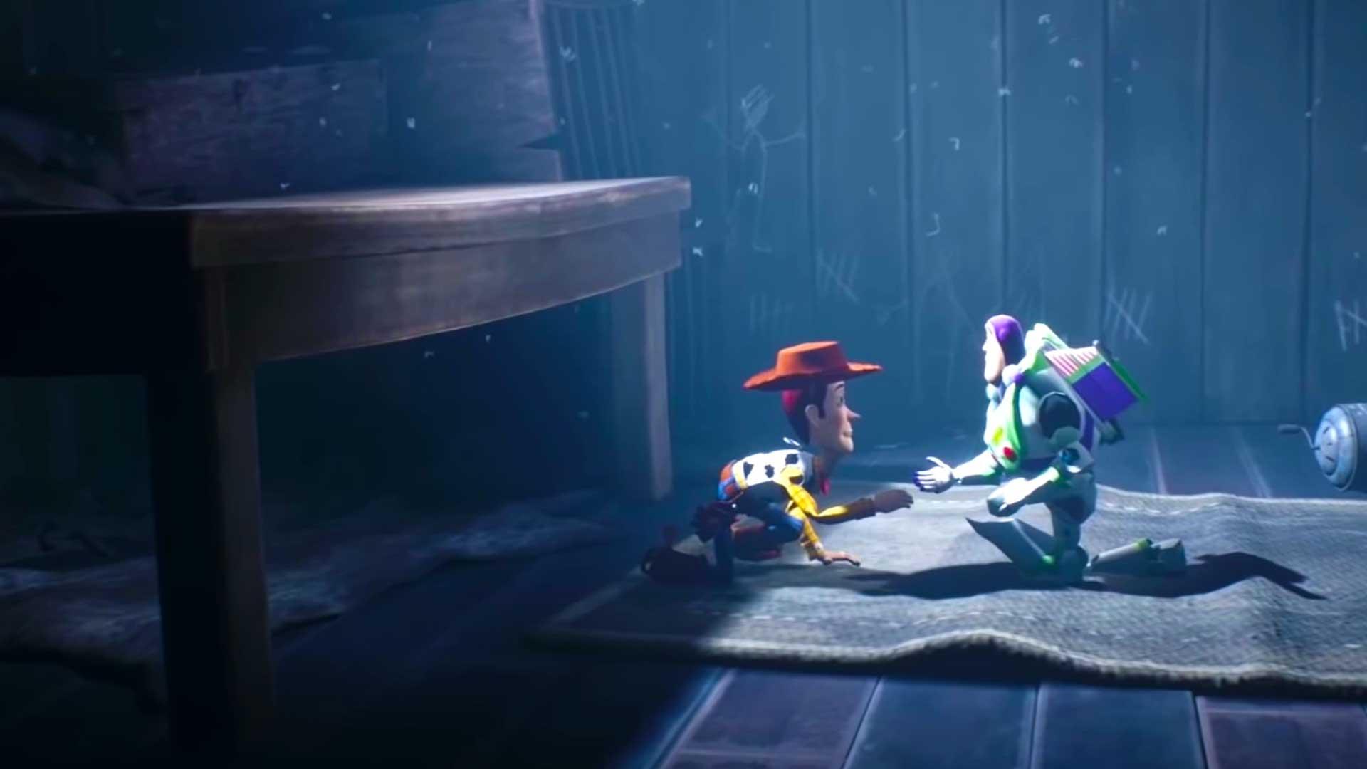 Little Nightmares II Woody Buzz Lightyear Mod