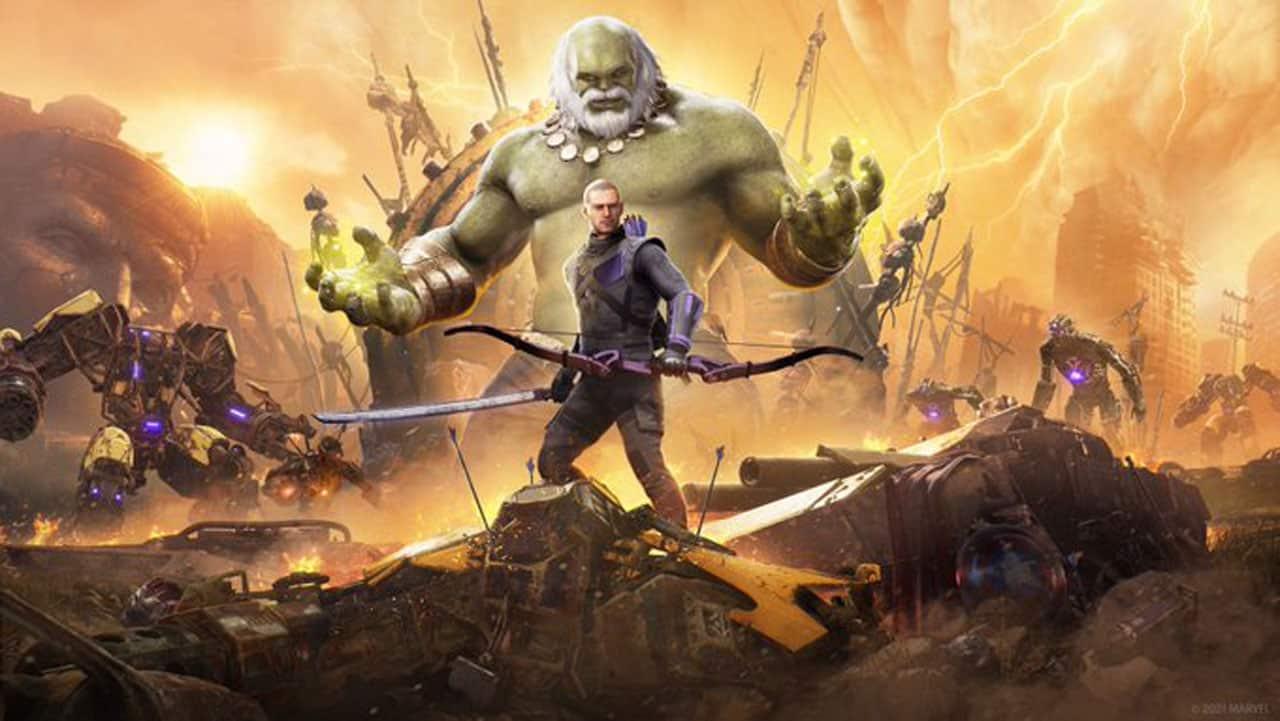 Marvel's Avengers Future Imperfect Hawkeye