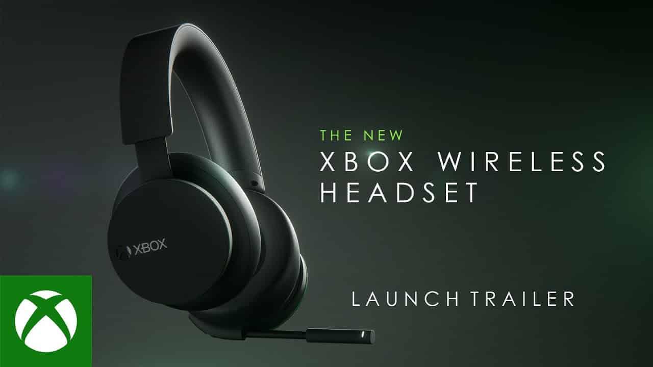 New Xbox Wireless Headset Microsoft
