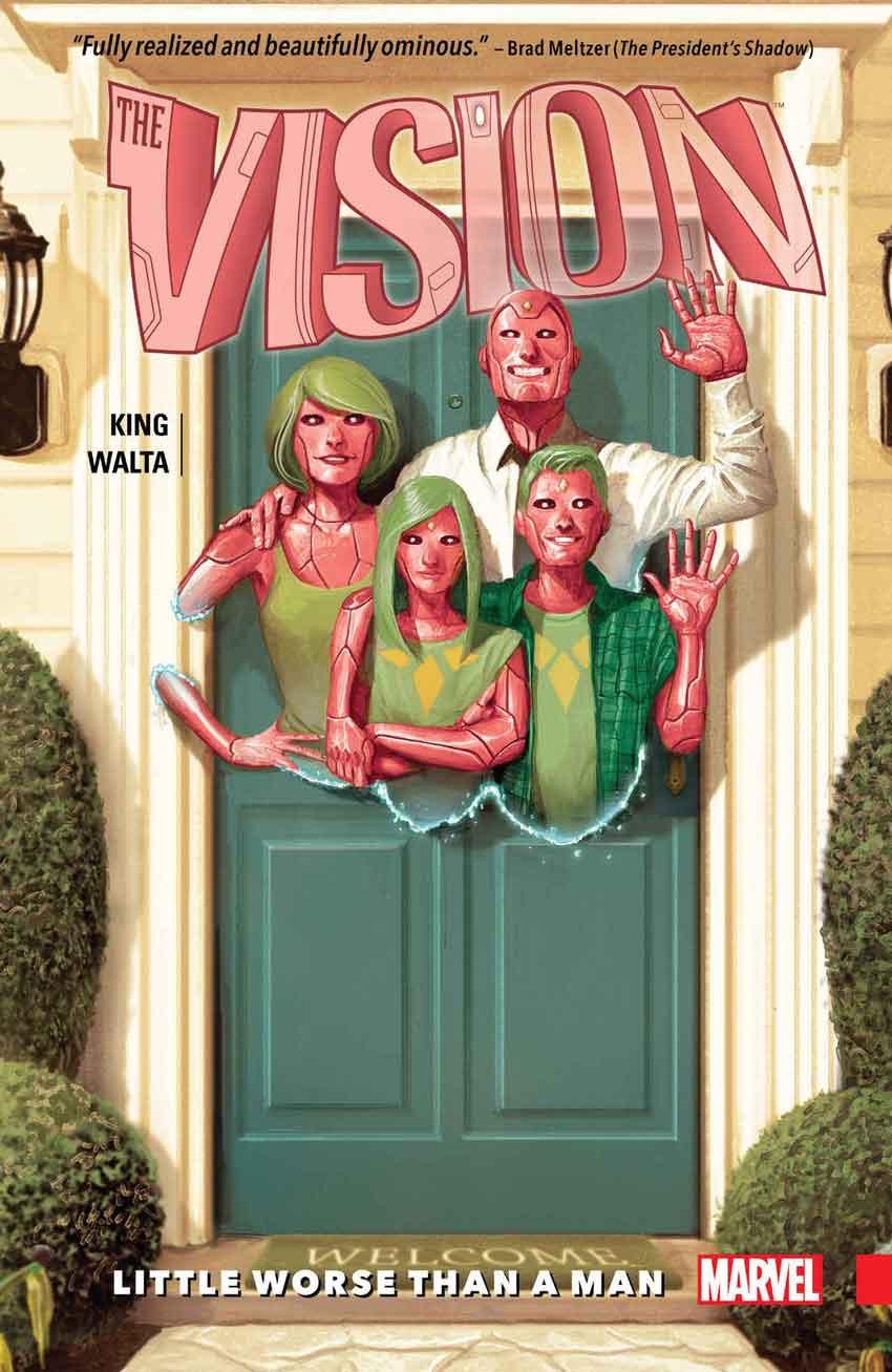 WandaVision Comics Vision